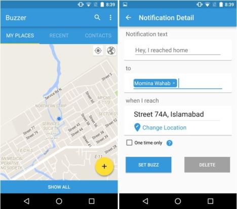 Buzzer para Android