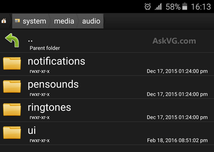 Ringtones Android