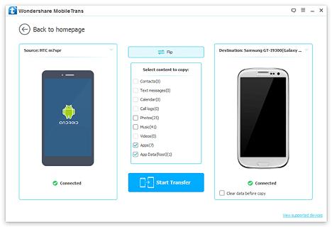 Transferir chats en WhatsApp Android
