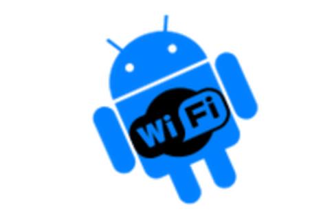 Google Play Store con Wi-Fi