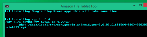 Play Store en Amazon Fire Tablet
