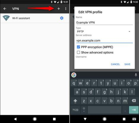 VPN en Android