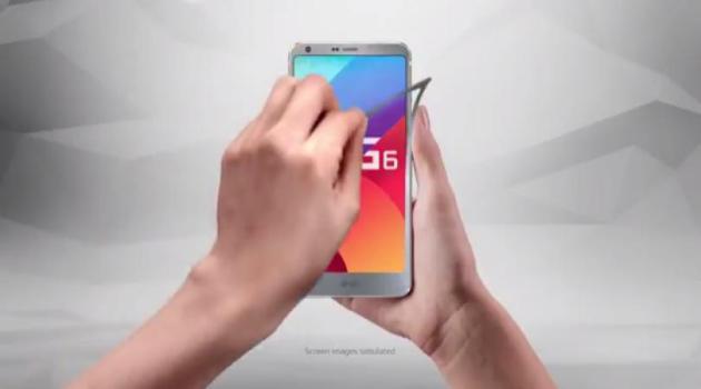 primer video promocional del LG G6