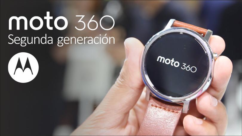 Moto 360 recibirá Android Wear 2.0 con Funciones especiales