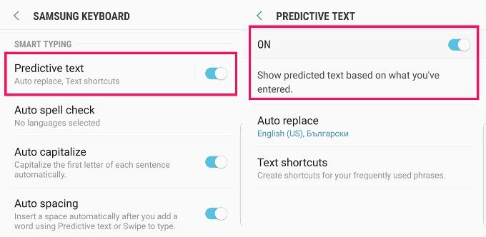 Samsung Galaxy Note 8 y sus mejoras de escritura