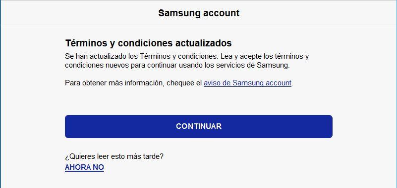 recuperar Samsung Galaxy Perdido