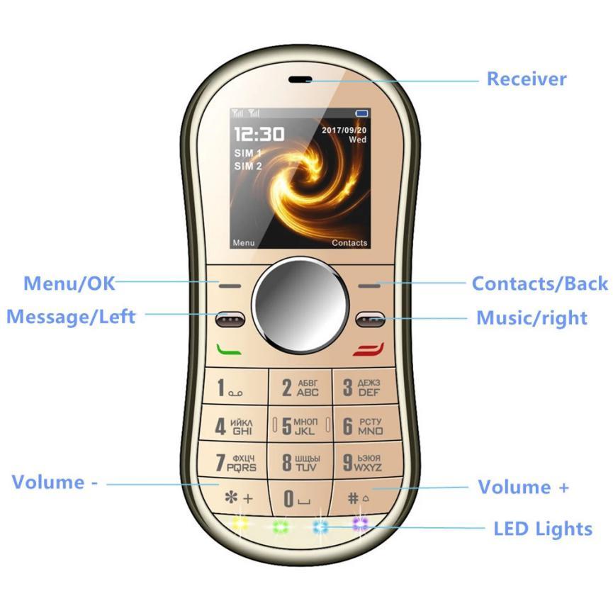 teléfono móvil Servo