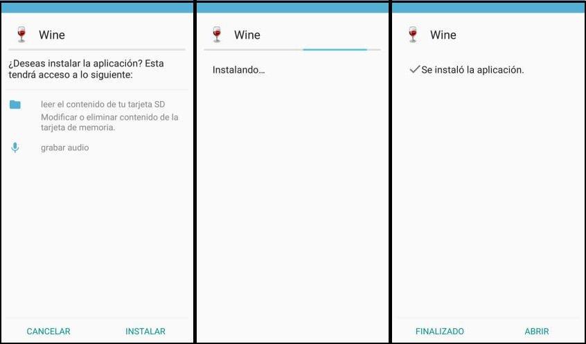 Aplicaciones de Windows en Android