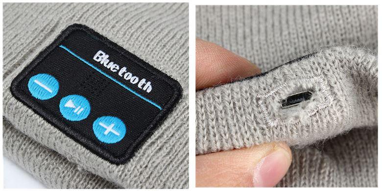 Gorras Bluetooth de lana para smartphone android
