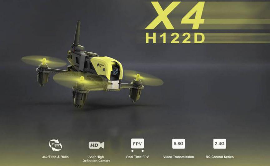 Hubsan H122D X4 Storm gadget android