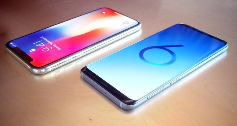 samsung s9 o iphone x cual comprar