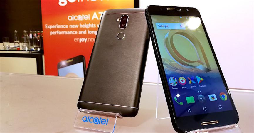 Alcatel A7 5090Y telefonos móviles baratos