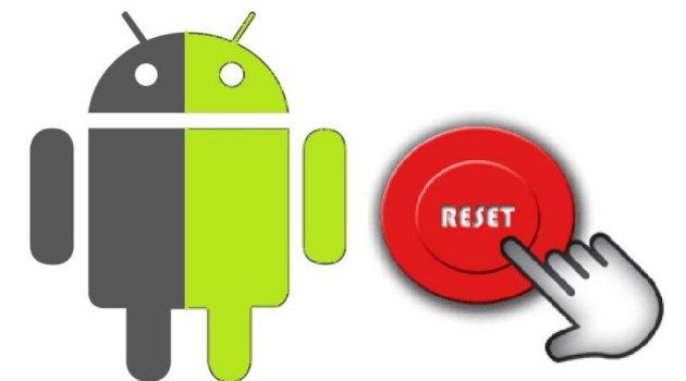 Hacer Reset a aplicaciones Android