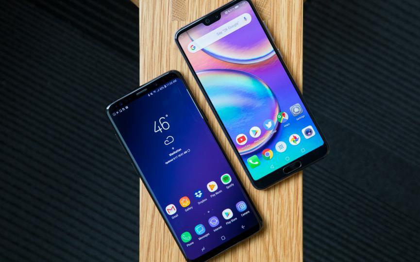 Galaxy S9 Plus vs. Huawei P20 Pro: ¿Cual debes comprar para todo trabajo?