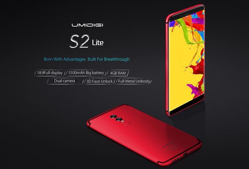 SmartPhones UmiDIGI S2 Lite