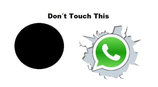 Punto Negro en WhatsApp