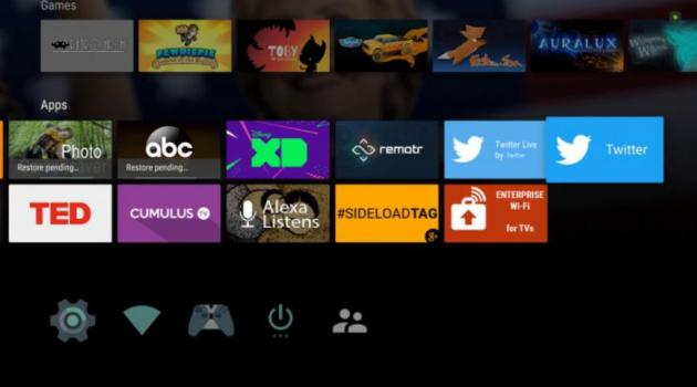 Twitter para Android TV