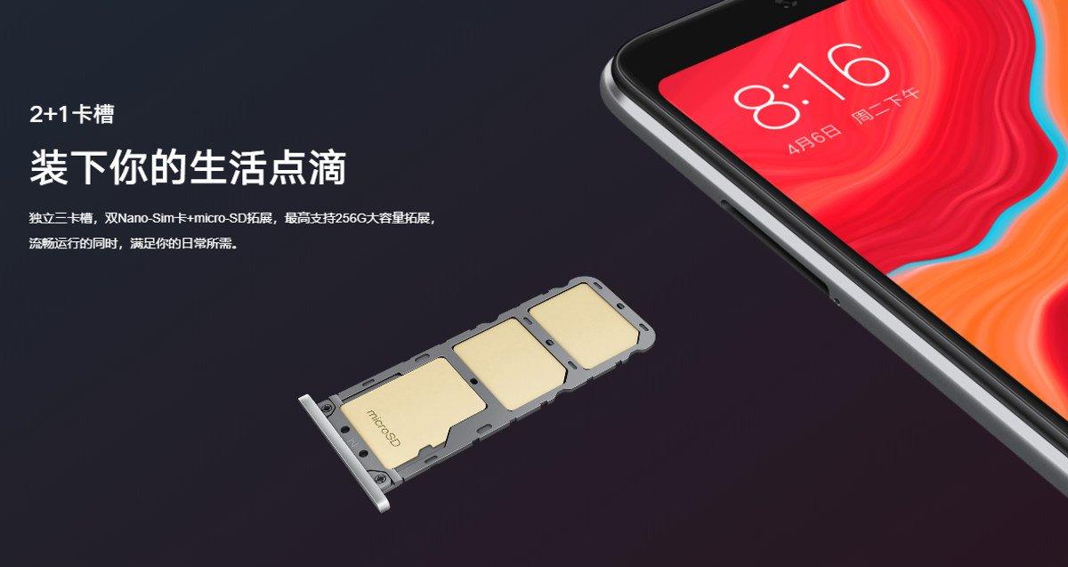 Xiaomi Redmi S2 con Dual SIM y microSD