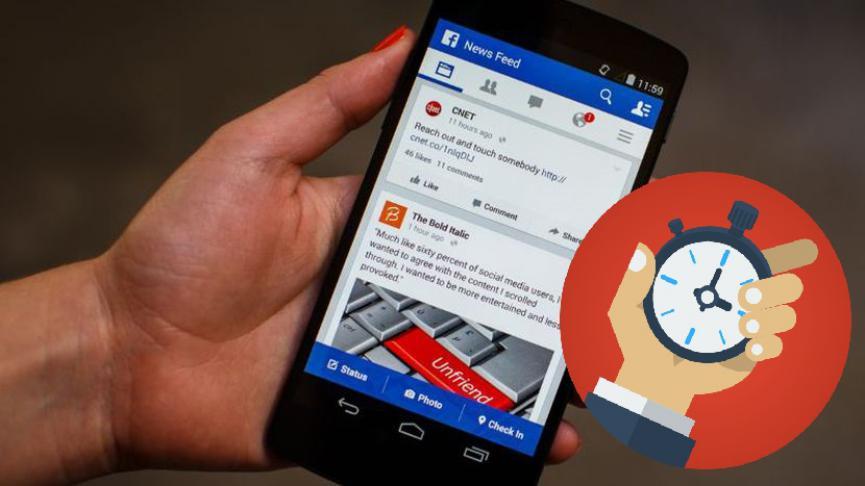 c te ayudará a saber, cuánto tiempo estás pasando en la red social