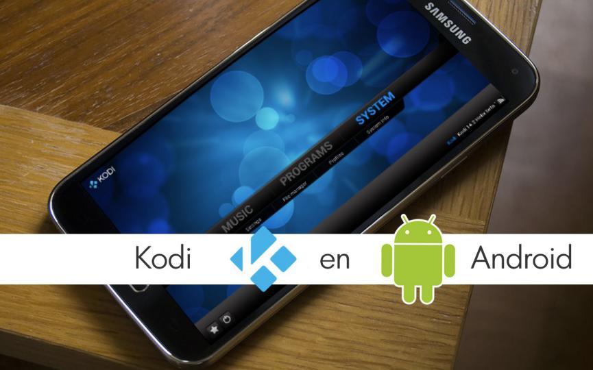 ¿Cómo usar Kodi Android para partidos transmitidos vía streaming?