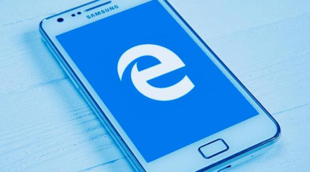 Microsoft Edge en Android eBooks