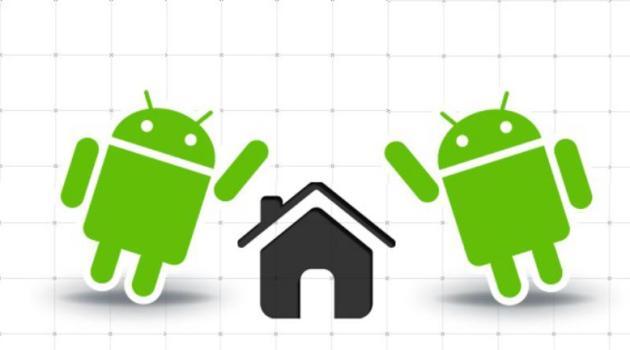 Página de Inicio en Android