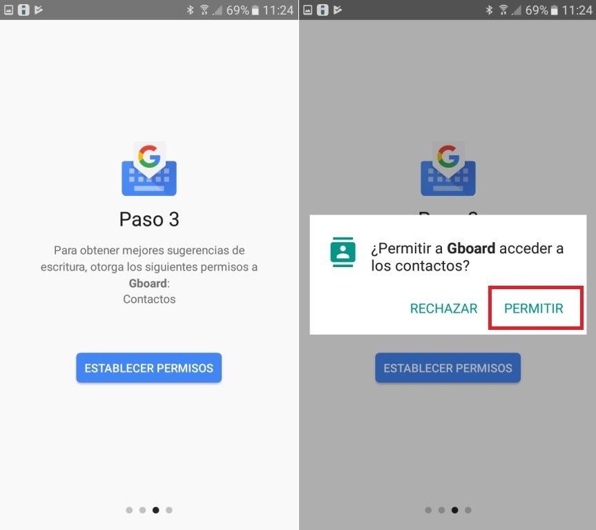 crear gifs animados en Android con GBoard