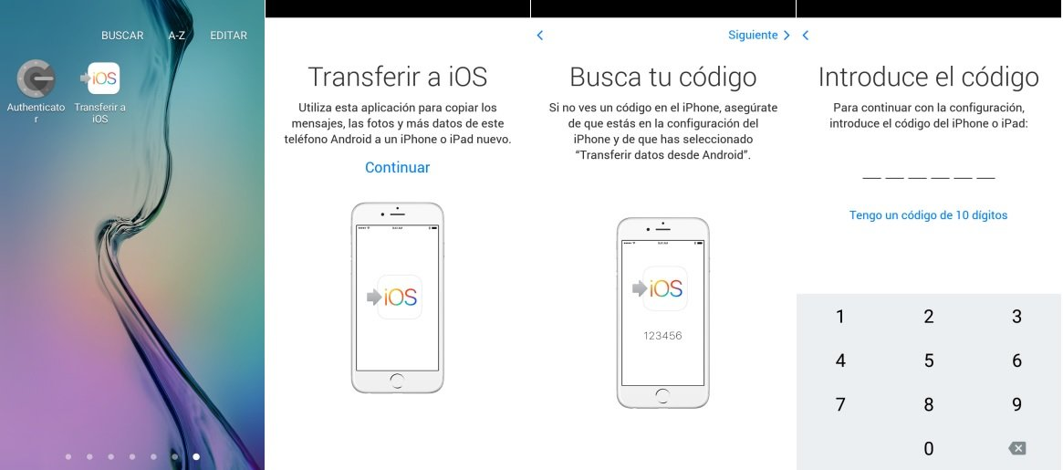 pasar Contactos Android al iPhone o iPad