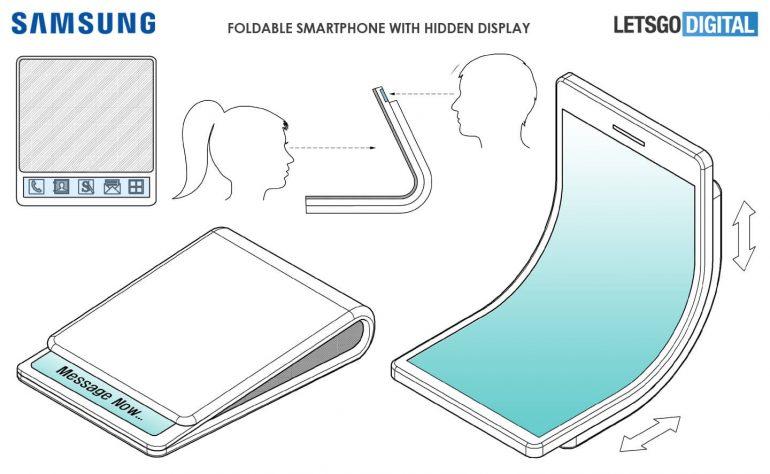 El Samsung Galaxy X podría ser plegable y tener una Pantalla Secundaria