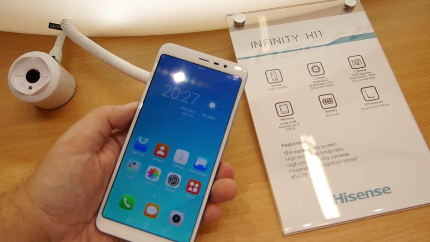 SmartPhone Android HiSense Infinity H11