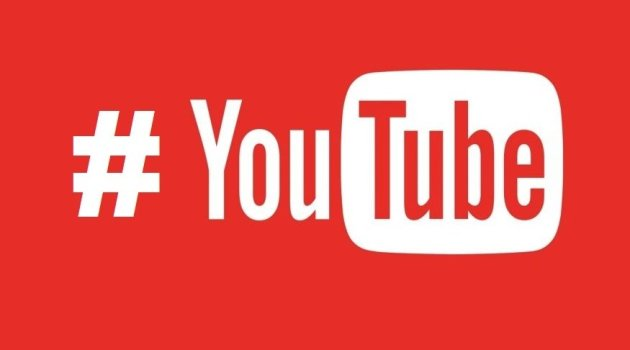 YouTube Android con hashtags