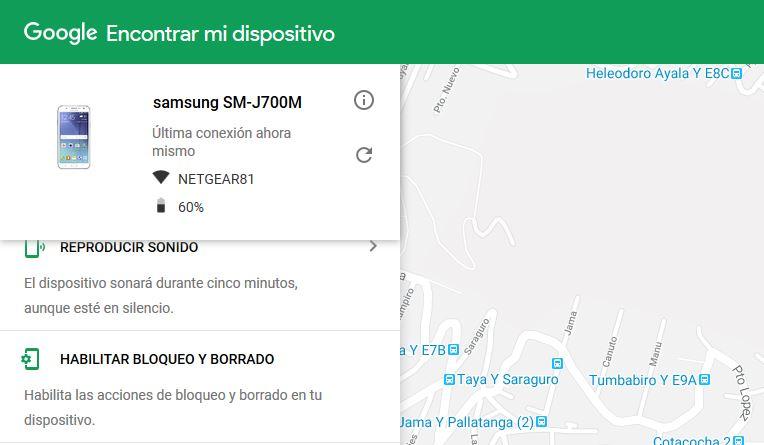 recuperar Patrón Olvidado en Android