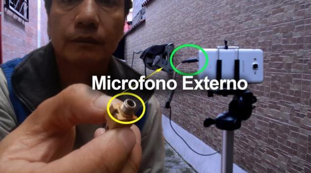 como hacer un microfono externo para smartphones Android