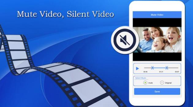 Quitar Sonido de Videos en Android con Mute Video