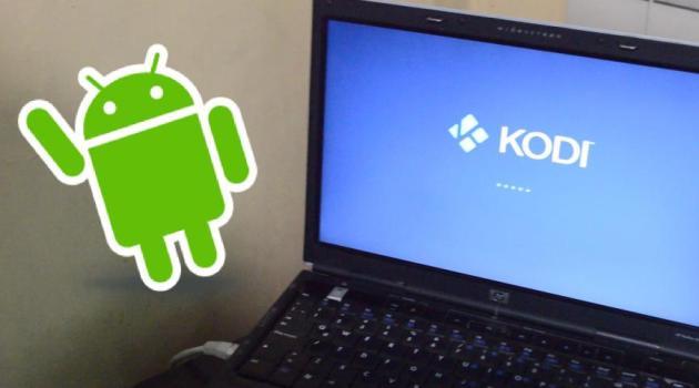 SmartPhone Android contro remoto Kodi