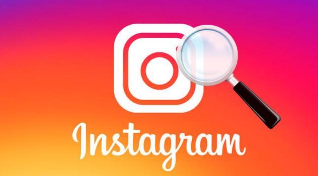 Búsquedas en Instagram