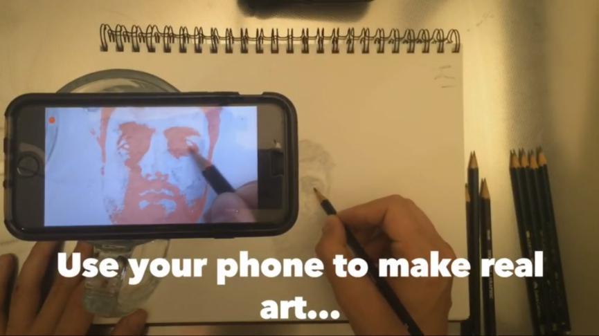 Da Vinci Eye aprender a dibujar