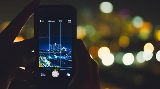 Samsung Galaxy S10 con Bright Night
