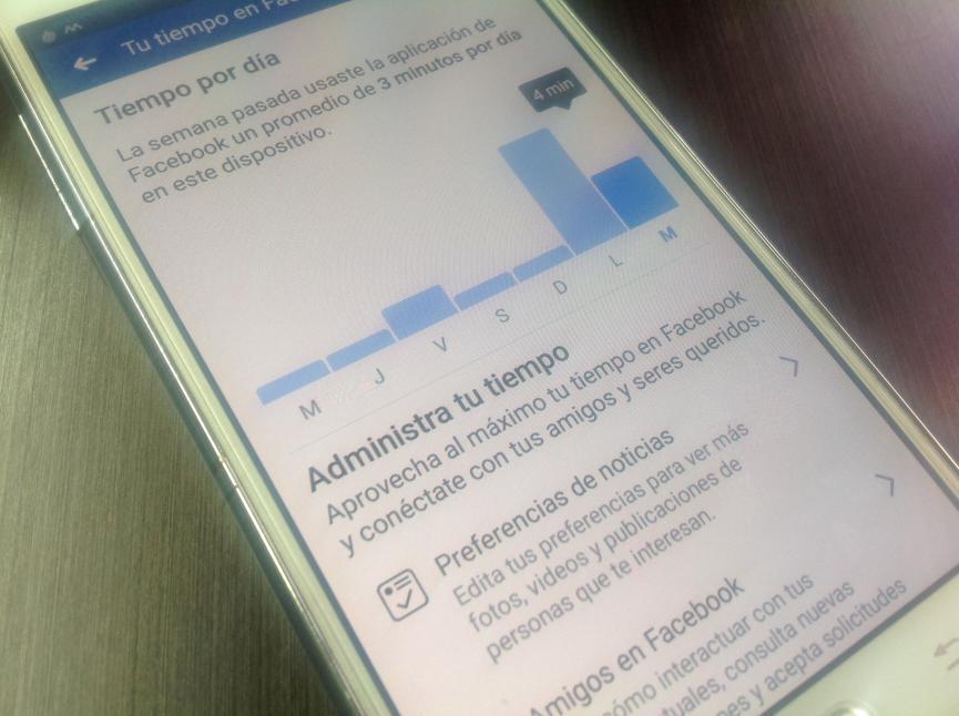 Limitar Uso de Facebook Android