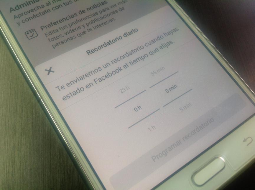 Limitar Uso de Facebook Android