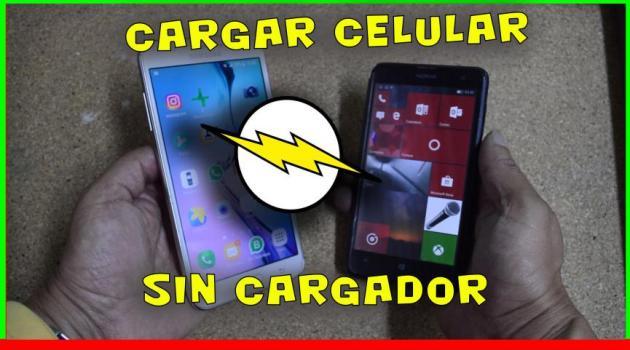 cargar celular android sin celular