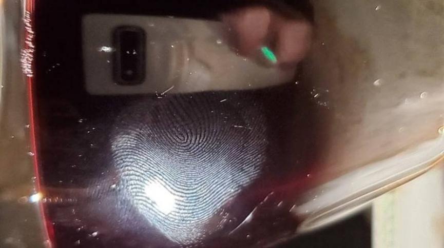 Samsung Galaxy S10 con sensor dactilar