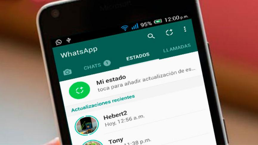 Descargar estados de WhatsApp