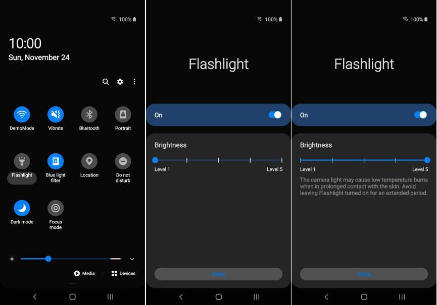 Configurar Luz Flash LED en Samsung Galaxy