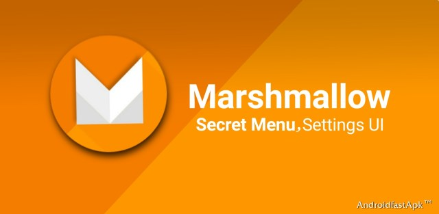Marshmallow setting UI