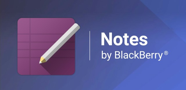 Notes BlackBerry