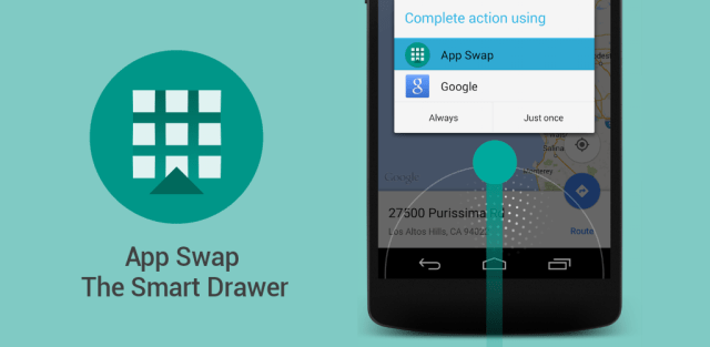 App Swap The Smart Drawer