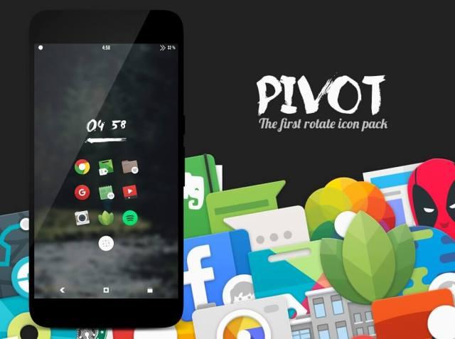 Pivot icon pack