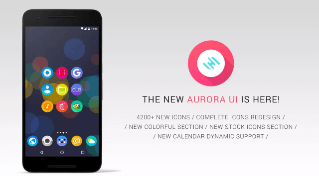 Aurora UI - Icon Pack