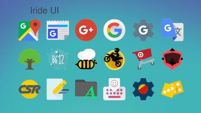 Iride UI Icon Pack